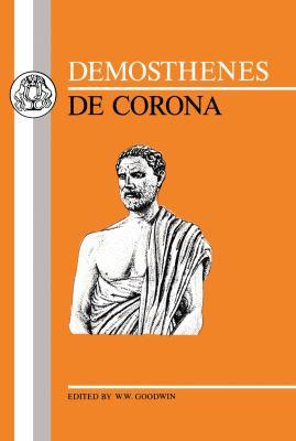Demosthenes De Corona Reprint 9780862920227 Front Cover