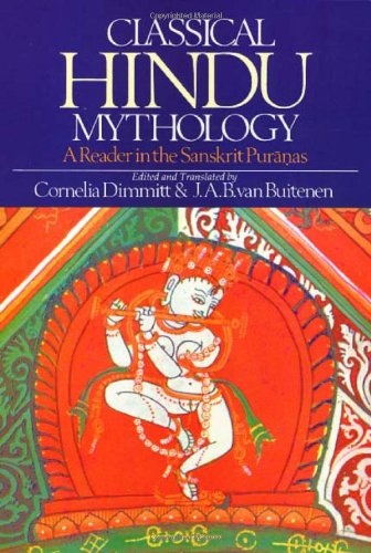 Classical Hindu Mythology A Reader in the Sanskrit Puranas  1978 edition cover
