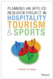 Planning an Applied Research Project in Hospitality, Tourism, and Sports   2014 edition cover