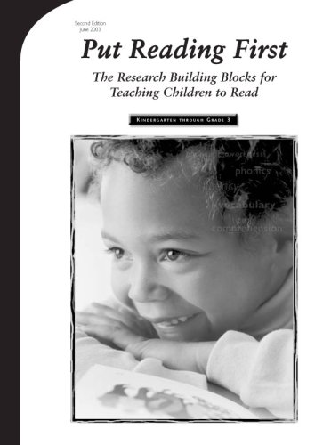 Put Reading First : The Research Building Blocks of Reading Instruction 2nd 2003 edition cover