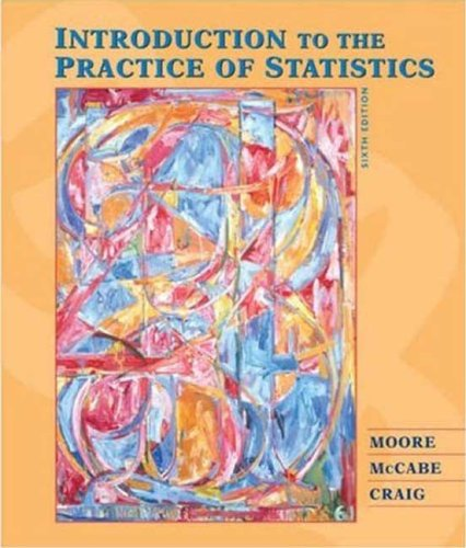 Introduction to the Practice of Statistics  6th 2008 (Revised) edition cover