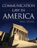 Communication Law in America  4th 2014 edition cover