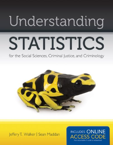 Understanding Statistics for the Social Sciences, Criminal Justice, and Criminology   2013 edition cover