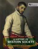 A History of Western Society: From Antiquity to the Enlightenment  2013 edition cover