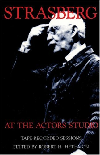 Strasberg at the Actor's Studio Tape-Recorded Sessions Reprint  edition cover