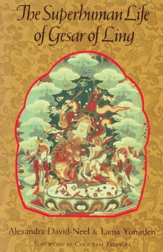 Superhuman Life of Gesar of Ling  N/A edition cover