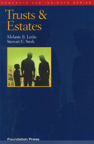 Trusts and Estates   2006 edition cover