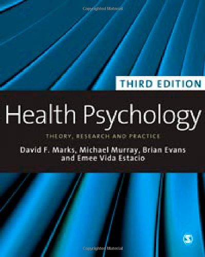 Health Psychology Theory, Research and Practice 3rd 2011 (Revised) edition cover