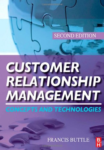 Customer Relationship Management  2nd 2009 (Revised) edition cover