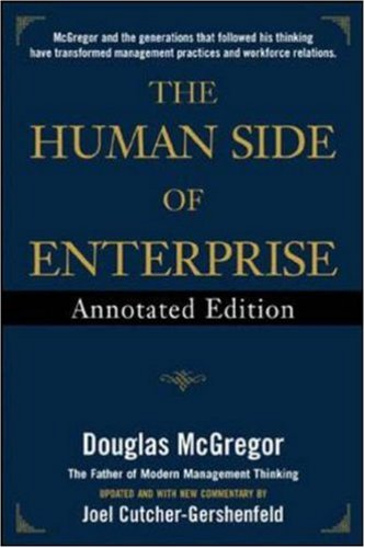 Human Side of Enterprise   2006 (Annotated) edition cover