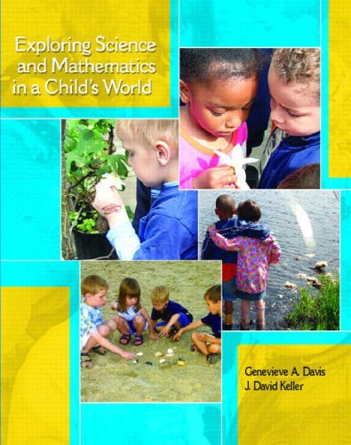 Exploring Science and Mathematics in a Child's World   2009 edition cover