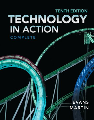 Technology in Action  10th 2014 edition cover