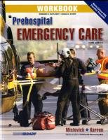 Prehospital Emergency Care  9th 2010 9780135081228 Front Cover