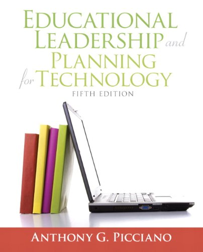 Educational Leadership and Planning for Technology  5th 2011 edition cover