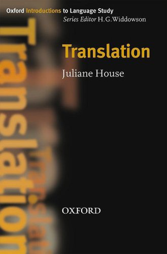 Translation   2009 edition cover
