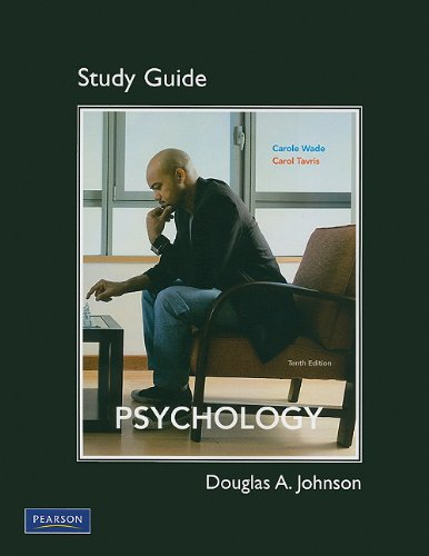 Study Guide for Psychology  10th 2011 9780205777228 Front Cover