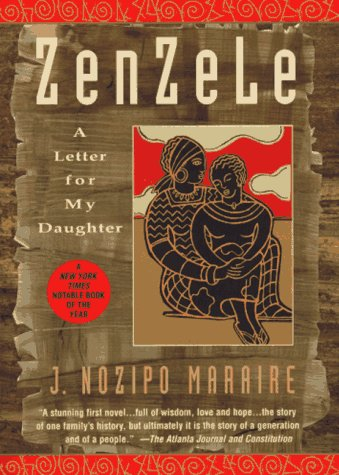 Zenzele A Letter for My Daughter N/A edition cover