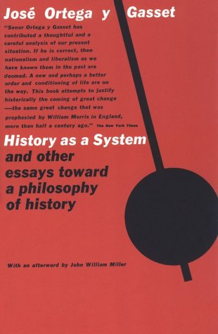 History As a System   1962 edition cover