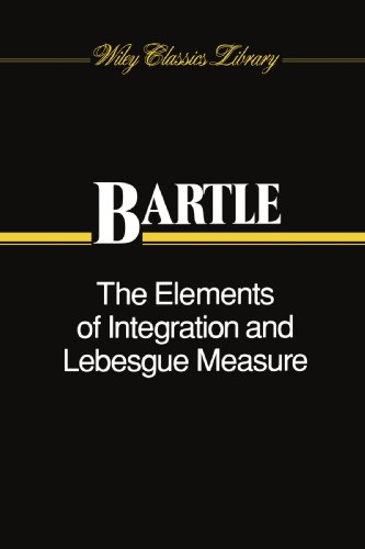 Elements of Integration and Lebesgue Measure   1995 edition cover