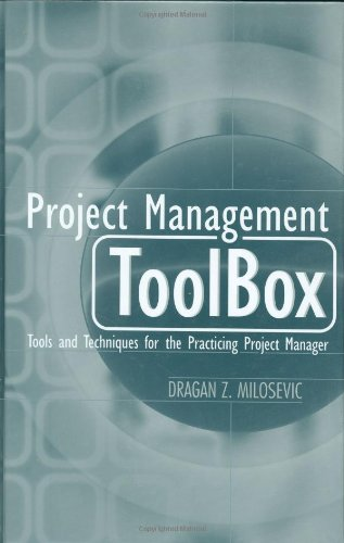Project Management ToolBox Tools and Techniques for the Practicing Project Manager  2003 edition cover