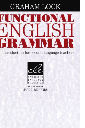 Functional English Grammar An Introduction for Second Language Teachers  1996 edition cover
