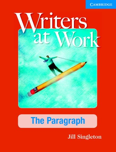 Writers at Work The Paragraph 2nd 2005 edition cover