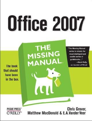 Office 2007   2007 9780596514228 Front Cover