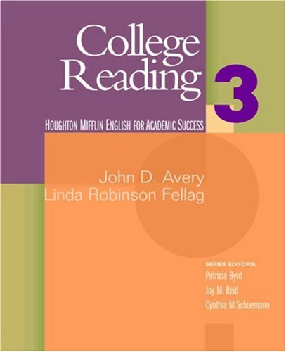 College Reading   2006 edition cover