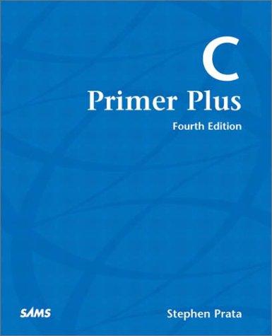 C Primer Plus  4th 2002 edition cover