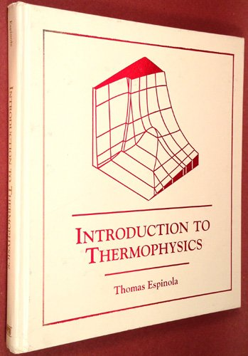 Introduction to Thermophysics  1994 edition cover