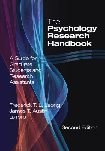 Psychology Research Handbook A Guide for Graduate Students and Research Assistants 2nd 2006 (Revised) edition cover