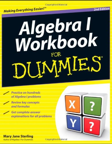 Algebra I for Dummies  2nd 2011 edition cover