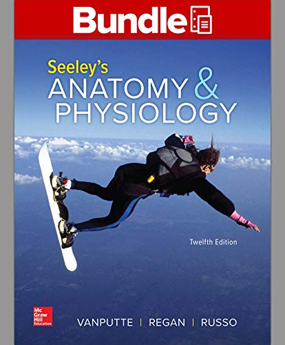 SEELEY'S ANATOMY+PHYS.(LL)-W/CONNECT    N/A 9781260692228 Front Cover