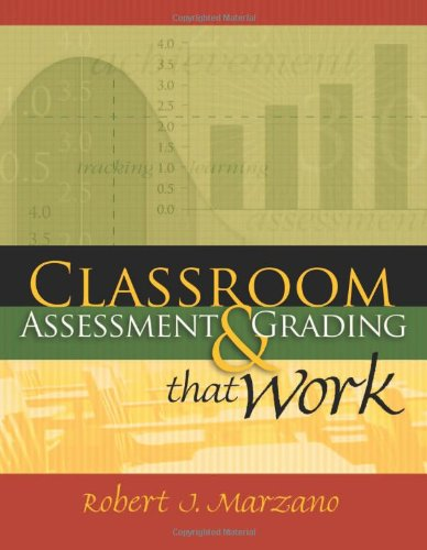 Classroom Assessment and Grading That Work   2006 edition cover