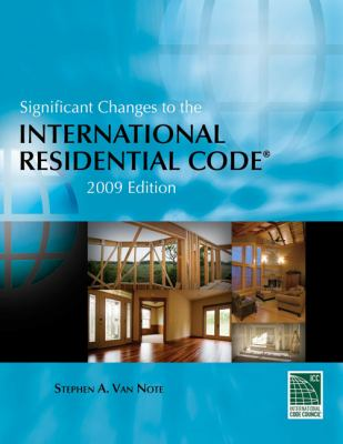 Significant Changes to the International Residential Code 2009   2009 9781435401228 Front Cover