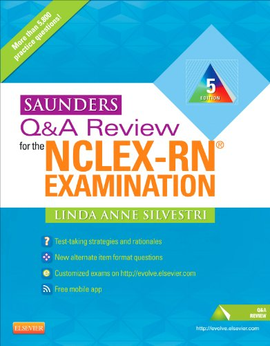 Saunders Q and A Review for the NCLEX-RN� Examination  5th 2012 edition cover