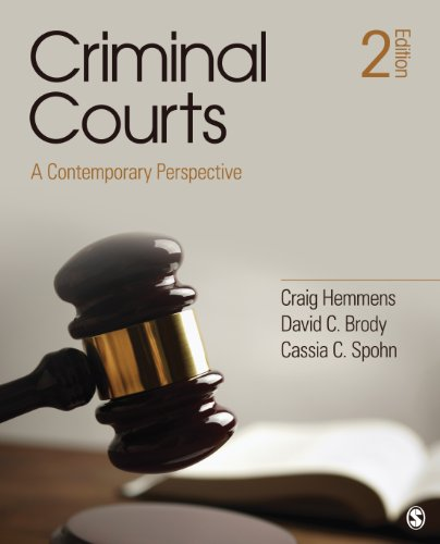 Criminal Courts A Contemporary Perspective 2nd 2013 edition cover