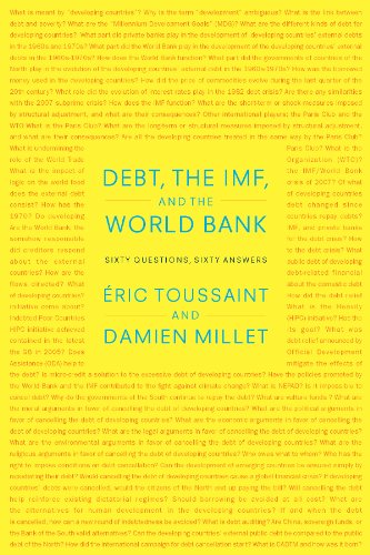 Debt, the IMF, and the World Bank Sixty Questions, Sixty Answers  2010 edition cover