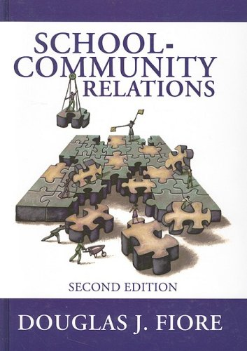 School-Community Relations  2nd 2006 edition cover