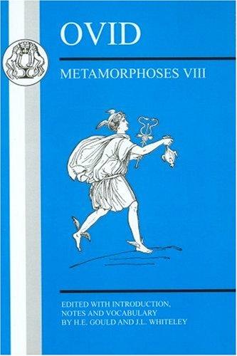 Ovid Metamorphoses VIII  2008 edition cover