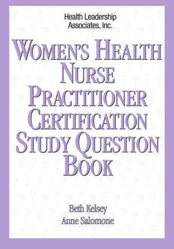 Women's Health Nurse Pratitioner Certification Study Question Book   1999 edition cover