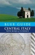 Blue Guide - Central Italy With Rome and Florence  2008 edition cover