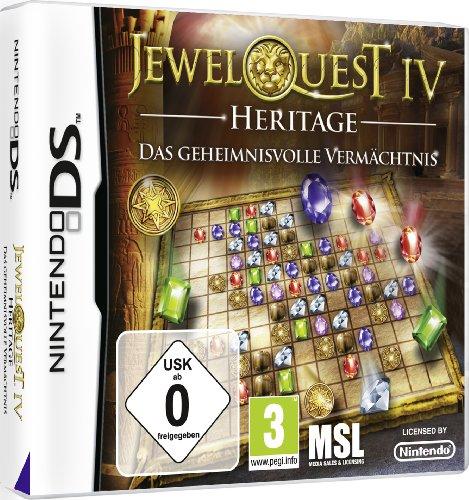 Jewel Quest IV Heritage: Das geheimnisvolle Vermächtnis Nintendo DS artwork