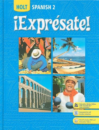 Expresate!   2007 (Student Manual, Study Guide, etc.) 9780030453229 Front Cover