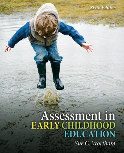 Assessment in Early Childhood Education  6th 2012 edition cover