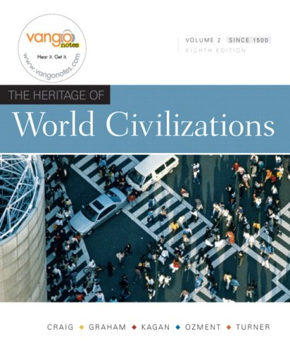 Heritage of World Civilizations  8th 2009 edition cover