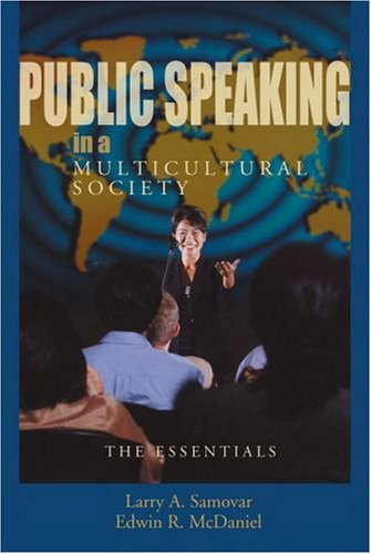 Public Speaking in a Multicultural Society The Essentials N/A edition cover