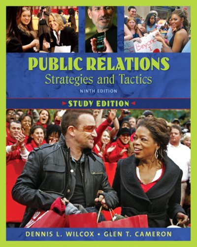 Public Relations Strategies and Tactics 9th 2010 edition cover