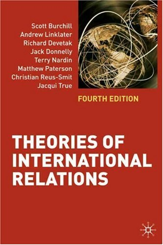 Theories of International Relations  4th 2009 (Revised) 9780230219229 Front Cover