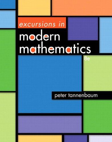 Excursions in Modern Mathematics, Books a la Carte Edition  8th 2014 edition cover